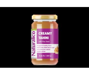 CREAMY TAHINI With Flax Seed