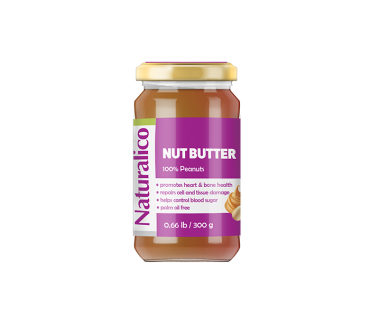 NUT BUTTER 100% PEANUTS 300 g